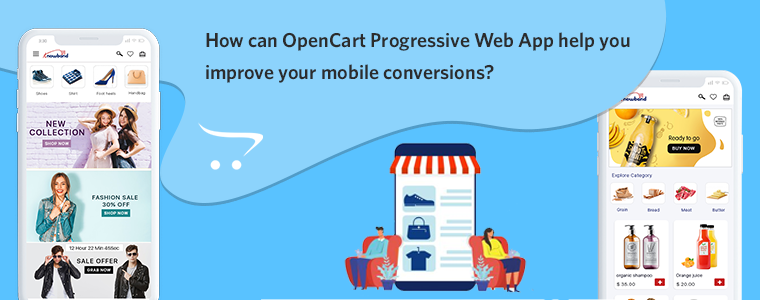 OpenCart PWA Mobile App by Knowband