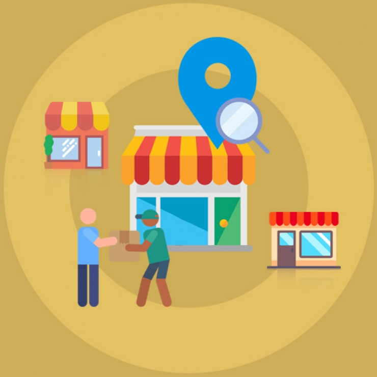 OpenCart Store Locator and Pick up