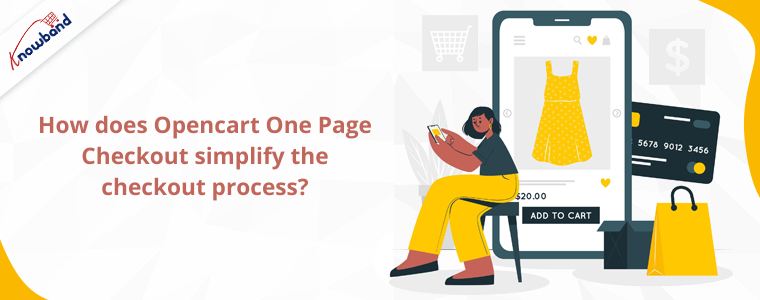 How does Opencart One Page Checkout simplify the checkout process